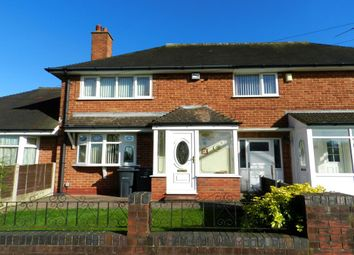 Thumbnail 2 bedroom terraced house for sale in Gilwell Road, Shard End, Birmingham