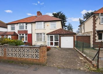 Thumbnail 3 bed semi-detached house for sale in Belvue Road, Northolt
