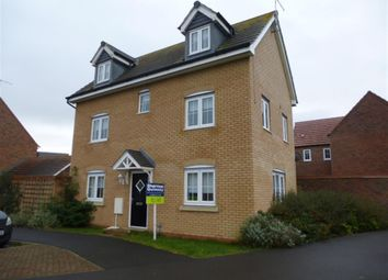 Thumbnail 4 bed detached house to rent in Skye Close, Alwalton, Peterborough