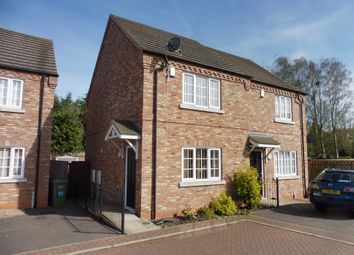 Thumbnail 2 bedroom semi-detached house for sale in Steeple View, Walsoken, Wisbech