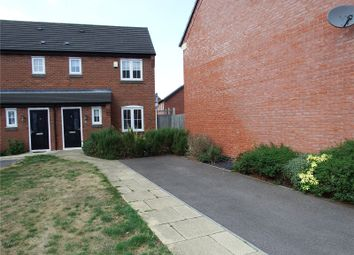Thumbnail 3 bed semi-detached house to rent in John Frear Drive, Syston, Leicester, Leicestershire
