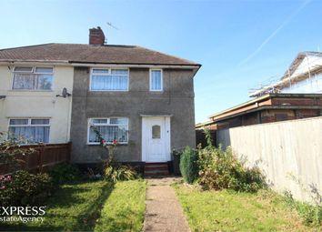 Thumbnail 2 bed semi-detached house for sale in Montacute Road, New Addington, Croydon, Surrey