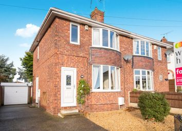 Thumbnail 3 bed semi-detached house for sale in Sunfield Avenue, Worksop