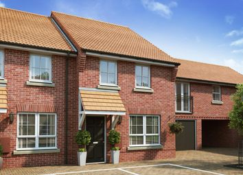 "Thumbnail 3 bed terraced house for sale in ""Woodbridge"" at Reeds Lane, Banningham Road, Aylsham, Norwich"