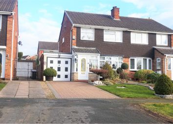 Thumbnail 3 bed semi-detached house for sale in Swinburne Close, Sutton Heights Telford