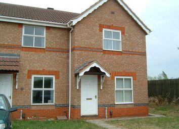 Thumbnail 2 bed semi-detached house to rent in Rose Walk, Scunthorpe