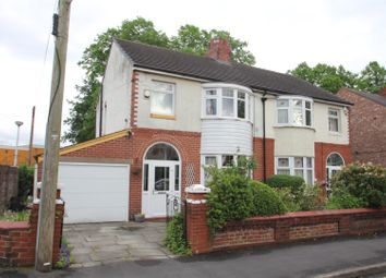 Thumbnail 3 bed semi-detached house for sale in Church Street, Stretford, Manchester
