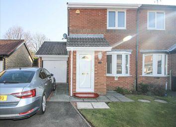 Thumbnail 2 bed semi-detached house to rent in Plaistow Way, Cramlington