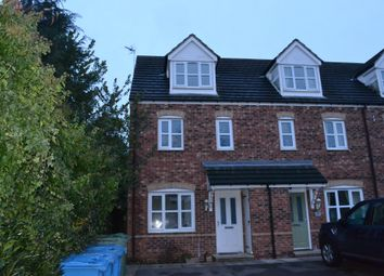 Thumbnail 3 bed town house for sale in 15 Portland Road, Retford, Nottinghamshire