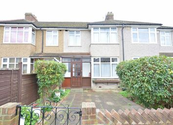 Thumbnail 3 bed terraced house to rent in Rothbury Avenue, Rainham, Essex