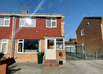 Thumbnail 3 bed semi-detached house for sale in Ashborne Close, Kennington, Ashford