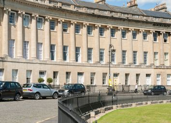 Thumbnail 1 bed flat for sale in Royal Crescent, Bath