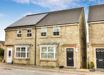 Thumbnail 4 bedroom semi-detached house for sale in Draymans Court, Halifax, West Yorkshire