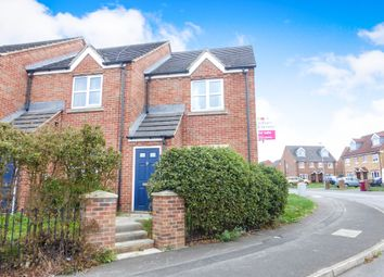 Thumbnail 2 bedroom end terrace house for sale in Temple Road, Scunthorpe