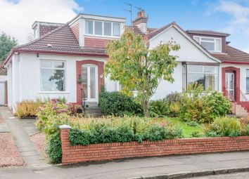 Thumbnail 4 bedroom semi-detached bungalow for sale in Nethercliffe Avenue, Netherlee, Glasgow