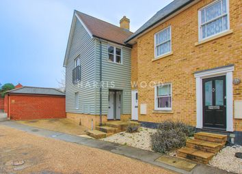 Thumbnail 2 bed flat for sale in Darkhouse Lane, Rowhedge, Colchester