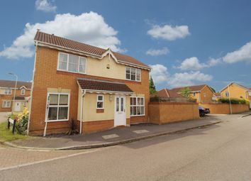 Thumbnail 3 bed detached house for sale in Armstrong Drive, Bedford
