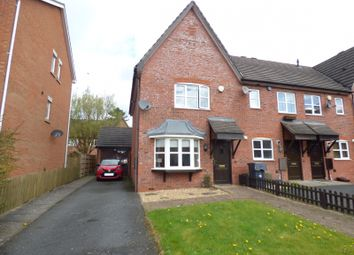 Thumbnail 3 bed end terrace house to rent in Sedge Drive, Woodland Grange, Bromsgrove