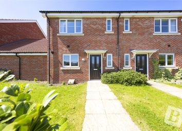 Thumbnail 3 bed semi-detached house for sale in Markhams Terrace, Markhams Chase, Lee Chapel North, Essex