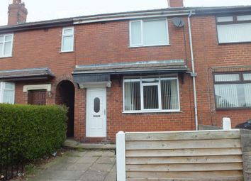 Thumbnail 3 bed town house to rent in Ridge Road, Sandyford, Stoke-On-Trent