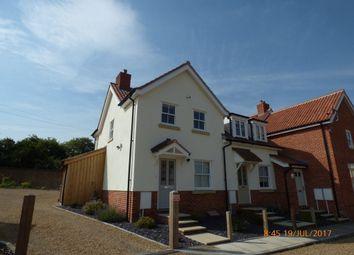 Thumbnail 2 bedroom end terrace house to rent in Bridge Street, Loddon, Norwich