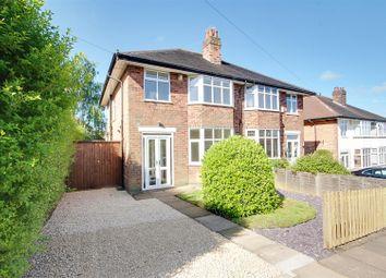 Thumbnail 3 bedroom semi-detached house for sale in Barden Road, Mapperley, Nottingham