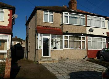 Thumbnail 4 bed bungalow to rent in Wood End Way, Northolt