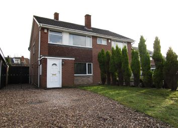 Thumbnail 3 bed semi-detached house for sale in Park Hall Road, Goldthorn, Wolverhampton