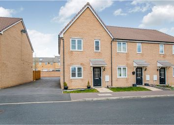 Thumbnail 2 bedroom end terrace house for sale in Hillfield Road, Oundle, Peterborough