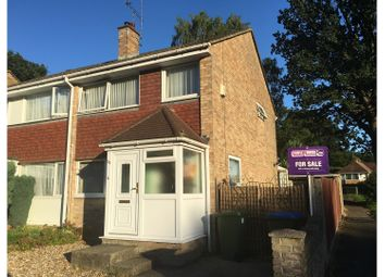 Thumbnail 3 bedroom semi-detached house for sale in Cowdray Close, Lordswood, Southampton