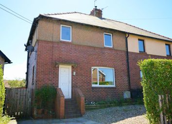 Thumbnail 3 bed semi-detached house for sale in Hipsburn Crescent, Lesbury, Alnwick