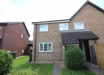 Thumbnail 2 bed semi-detached house to rent in Louthe Way, Sawtry, Huntingdon