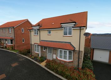 Thumbnail 4 bedroom detached house for sale in Higher Meadow, Cranbrook, Exeter