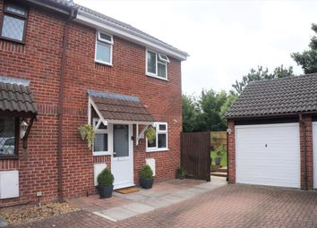 Thumbnail 2 bed semi-detached house for sale in Wagtail Close, Swindon