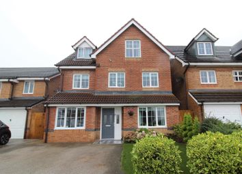 Thumbnail 5 bed detached house for sale in Charles Street, Brymbo, Wrexham