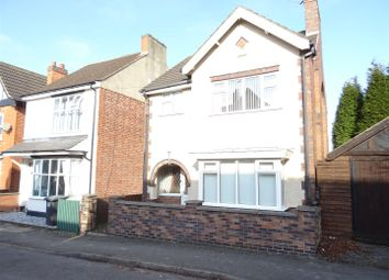 Thumbnail 3 bed detached house for sale in Vaughan Street, Coalville, Leicestershire