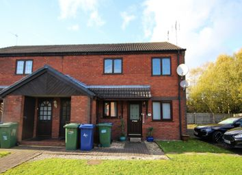 Thumbnail 2 bed flat for sale in Greenslade Grove, Cannock, Staffordshire