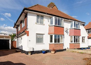 Thumbnail Semi-detached house for sale in Knightwood Crescent, New Malden, Surrey