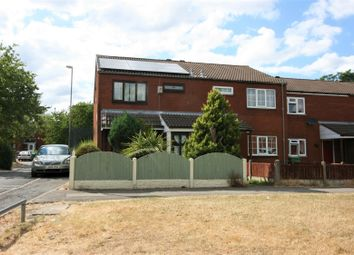 Thumbnail 4 bedroom end terrace house for sale in Paddington Walk, Walsall