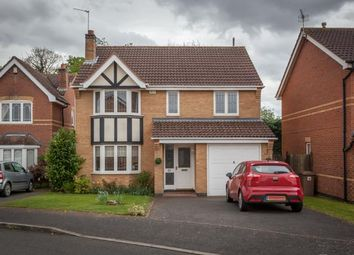 Thumbnail 4 bed detached house for sale in Bede Close, Quarrington, Sleaford
