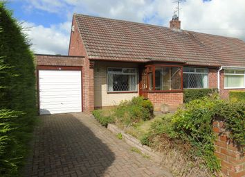 Thumbnail 2 bed semi-detached house for sale in Crawhall Crescent, Morpeth