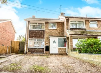 Thumbnail 3 bed semi-detached house for sale in Oak Road, Gorleston, Great Yarmouth
