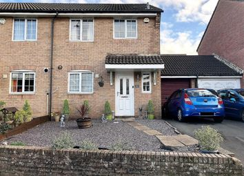 Thumbnail 3 bed semi-detached house for sale in Home Farm Way, Swansea