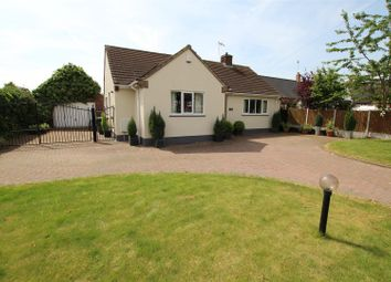 Thumbnail 4 bed detached house for sale in Repton Road, Newton Solney, Burton-On-Trent