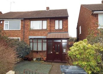 Thumbnail 3 bed semi-detached house for sale in Deans Way, Ash Green, Coventry, Warwickshire