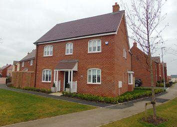 Thumbnail 4 bed detached house for sale in Cannock Crescent, Desborough