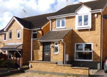 Thumbnail 3 bed detached house for sale in Barnwell Close, Thrapston, Kettering