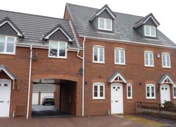 Thumbnail 3 bed town house to rent in Valley Drive, Wilnecote, Tamworth