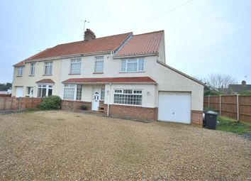 Thumbnail 4 bed semi-detached house for sale in Wootton Road, South Wootton, King's Lynn