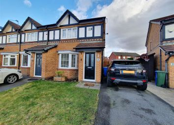 Thumbnail 2 bed semi-detached house for sale in Warwick Close, Dukinfield